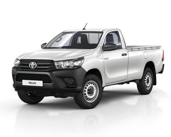 ris vehicle hire toyota hilux single cab 4 2 and 4 4. Black Bedroom Furniture Sets. Home Design Ideas